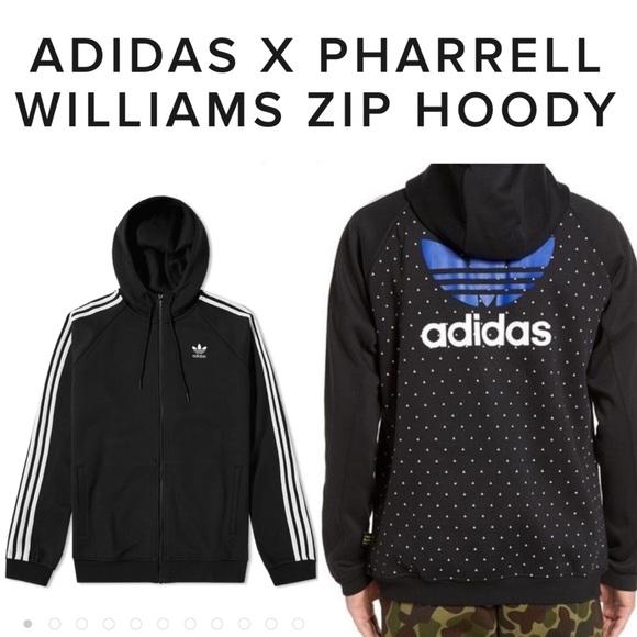 Adidas X Pharrell Williams HU Zip Hoodie XXL NWT